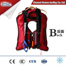 Offshore drilling Inflatable Life Jacket, Marine Fishing and working life saving vest ,floating 275N life jacket