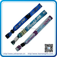 Friendship festival bracelet disposable /animal print wristbands