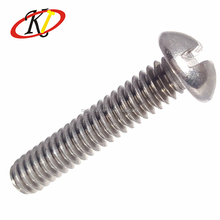 M8 32mm Quality Slotted Round Head Stainless Steel Ball Head Machine Screw