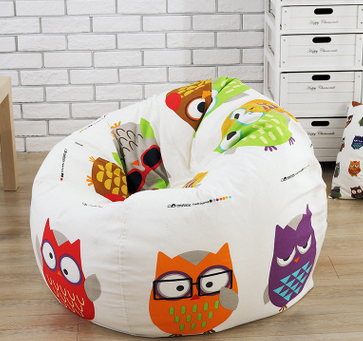 factory price cheap custom cute fat boy bean bag cover with low price