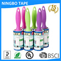 sticky industrial lint remove roller with color handle