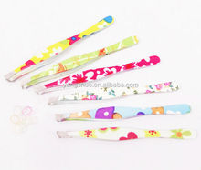 YS1026 2014 Yongsun Lady best stainless steel eyebrow tweezers eyelash tweezers