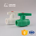 High pressure manual plastic ppr ball valve