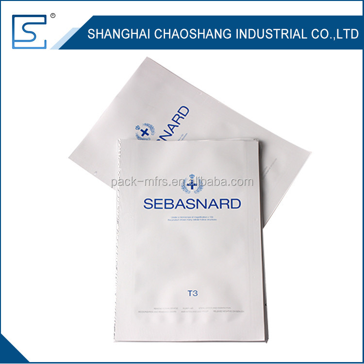 Professional Custom Packaging Heat Seal Aluminum Foil Bags With Tear Notch