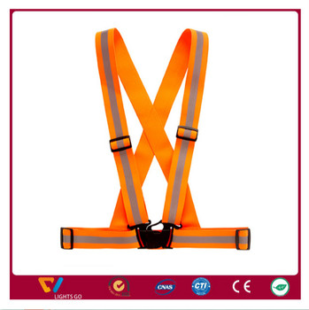 high light waterproof running belt /waist safety belt / workwear reflect vest