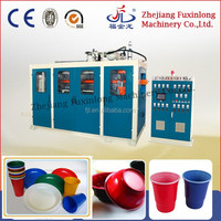 Fuxinlong Automatic disposable plastic tea cup making machine