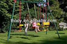galvanized swing set