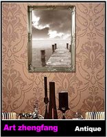 Good quality picture photo wood moulding frame/digital picture frame