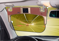 2015 hot sales Yuguangbao Gen3 car sun visor/ for all kinds of cars with GPS, speed warming, driving recorder