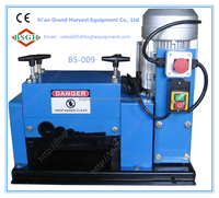High separated scrap plastic cable stripping / metal wire drawing pulling machine