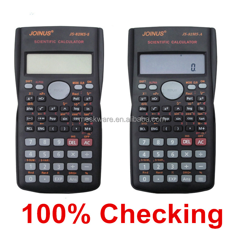 High quality 2 line display 10 digital scientific calculator, kids calculator, scientific calculator price