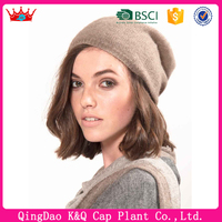 Hot sale china products cotton knit walmart winter hats women