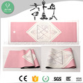 rubber material eco friendly yoga mat with suede microfiber surface