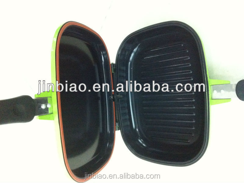 die casting aluminum divided frying pan