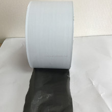 black and white color plastic PE Self-adhesive surface protecting film