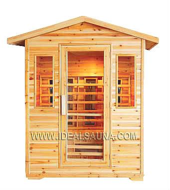 relaxation outdoor sauna room