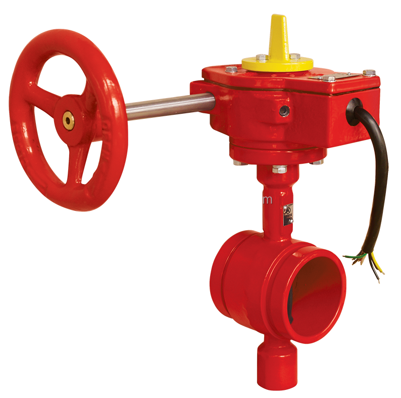 Fire Fighting Grooved end FM approved UL Butterfly Valve
