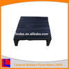 medium hardness accordion Square rubber bellow/bellows