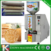 Popular Korea rice cake machine,rice cake popping machine,puffed rice cake machine