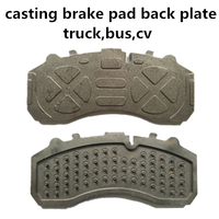 auto spare parts brakes backing plate for Mercedes truck