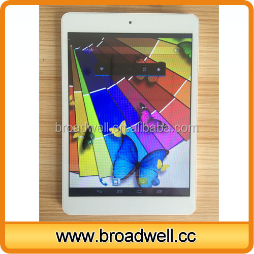 Cheapest Best Selling MTK8312 Dual Core 7.85 inch HD Screen 1024*768 3G Easy Touch Tablet with GPS Bluetooth