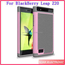 Wholesale Football Skin Hybrid Shockproof Combo Case For BlackBerry Leap Z20, For BlackBerry Leap Z20 Cover Case