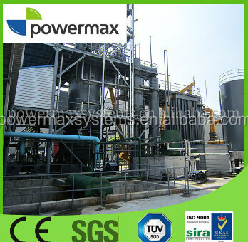 environmental protection woody biomass updraft fixed-bed gasifier for heating equipment