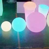 Magic Rechargeable floating led pool light 16 colour changing led ball lights