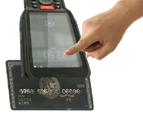 M60 android pda + bluetooth qr barcode scanner