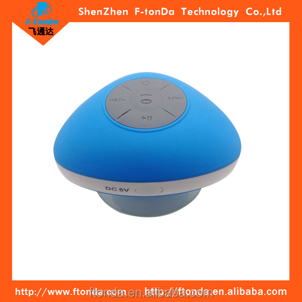 Factory Price Popular Mushroom Shower Mini Waterproof Bluetooth Speaker