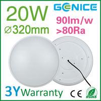 china led 20w round semi flush ceiling lights