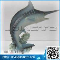 Resin marlin, marlin figurine,marlin figure