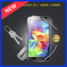 New arrival tempered glass for samsung galaxy s5 screen protector,9H hardness screen protector for samsung galaxy S5
