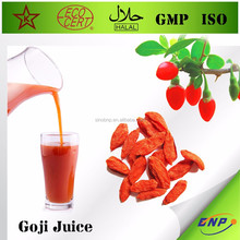 top sell high quality organic goji berry juice