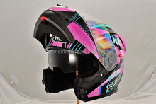 Double Visor Flip-up helmet with ECE & DOT Approved