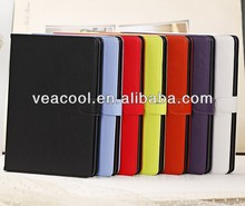 Color Glossy Stand Book Flip Leather Case Cover for iPad Air Case iPad 5 Leather Case