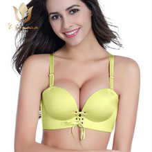 Hot Sexy Girls Adjustable Push Up Bra Sexy Young Ladies sexy film Seamless Bra women underwear bra set
