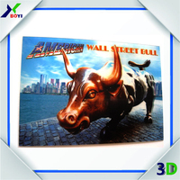City Printing travel postcard promotional souvenirs 3d lenticular pictures