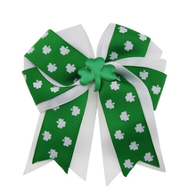 Foreing Styles St. Patrick's Day bowknot hairpin Ireland hair accessories for girls