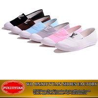 2016 cheap women shoes made in china ladies flat shoes wholesale canvas shoes for women
