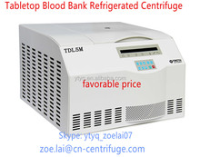 Tabletop blood bank refrigerated centrifuge cheap price
