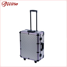 Christmas Portable Aluminum Beauty Case With Iso