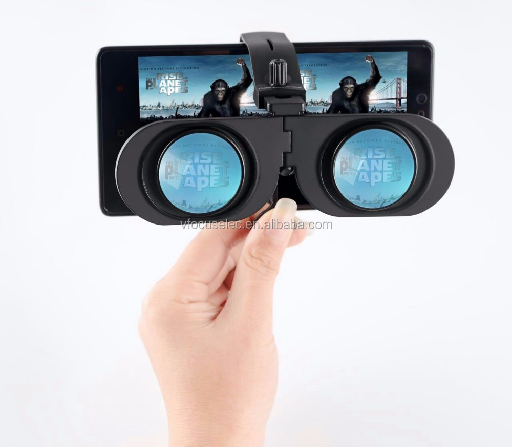 Mini VR Fold 3D Portable Virtual Reality 3D VR Google Cardboard Glasses For Smartphone 4.7-6