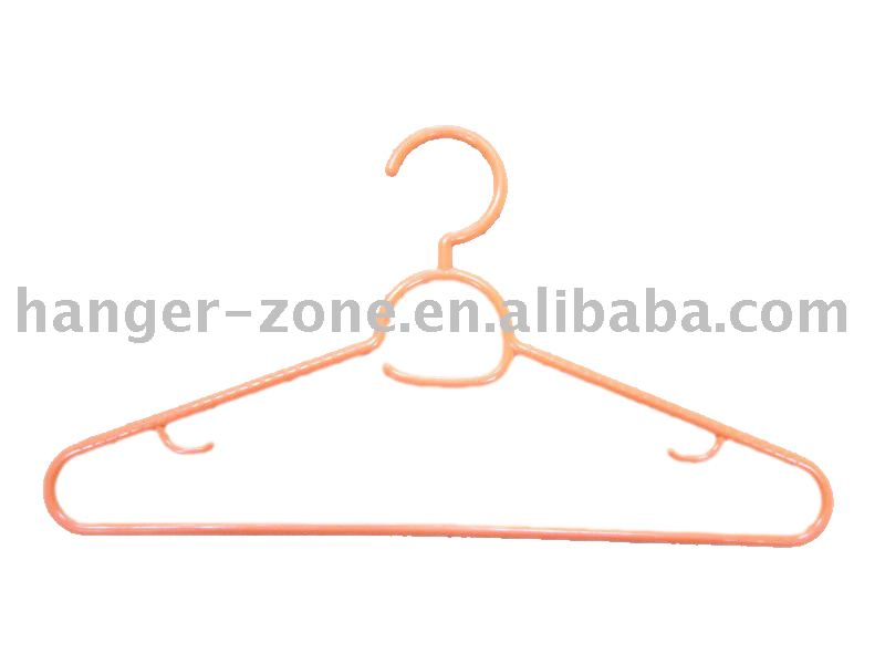 Plastic modern clothes hanger made of PP material Direct Deal