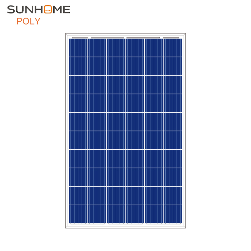Grade A solar cell 10 years warranty PV module 315W POLY from SUNHOME
