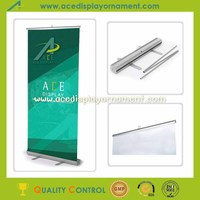 popular aluminum display roll up pull up banner