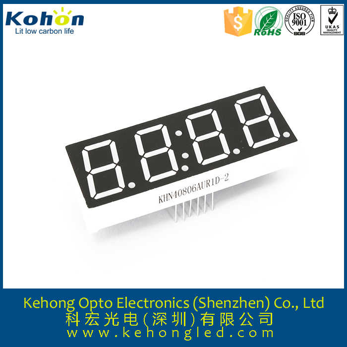 common cathode seven 7 segment 4 digit microwave oven customized led display good quality hot sale product