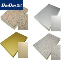 Waterproof insulation finishing fireproof decorative wall panel