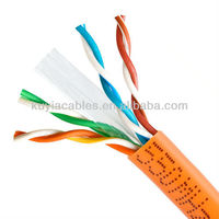 ORANGE NEW CAT6 1000FT UTP SOLID NETWORK ETHERNET CABLE BULK WIRE RJ45 Cat6 Lan Cable