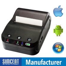 58 mm Portable Printer Bluetooth Airprint Receipt Printer Mini Printer